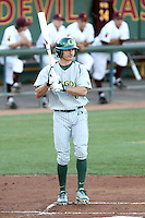 KC Serna #6 of the Oregon Ducks plays against the Arizona State Sun Devils on April 1, 2011 at Packard Stadium, Arizona State University, in Tempe, Arizona.  .Photo by:  Bill Mitchell/Four Seam Images.