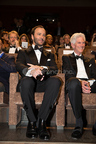 Tom Ford  and Richard Buckley  at the premiere of Nocturnal Animals at the 2016 Venice Film Festival.<br /> September 2, 2016  Venice, Italy<br /> CAP/KA<br /> &copy;Kristina Afanasyeva/Capital Pictures /MediaPunch ***NORTH AND SOUTH AMERICAS ONLY***