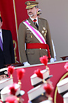 King Felipe VI of Spain attends the Armed Forces Day. May 27 ,2017. (ALTERPHOTOS/Acero)