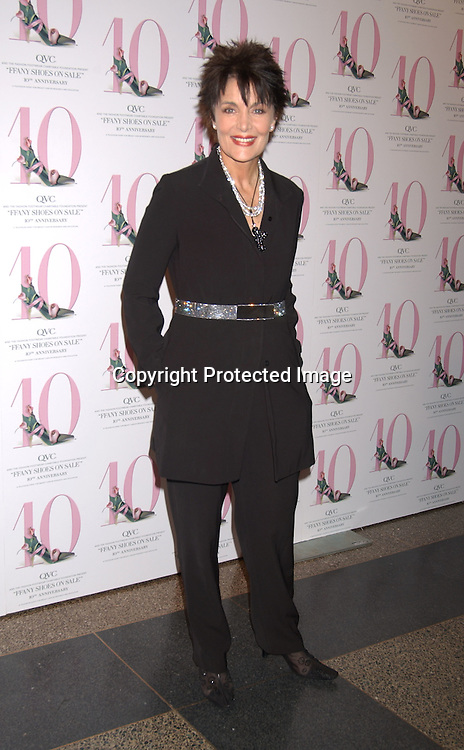 "..LInda Dano in Yeohlee..at the 10th annual  QVC presents ""FFANY Shoes on Sale "" event on October 15, 2003 at the  Ameriacn Museum of Natural History...Photo By Robin Platzer, Twin Images...."