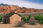 Abandoned Homestead at Red Cliffs Desert Reserve, Utah's Dixie, near St. George, UTAH