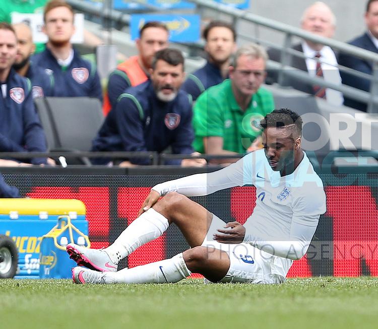 England's Raheem Sterling looks on dejected<br /> <br /> International Friendly - Republic of Ireland vs England - Aviva Stadium - Ireland - 7th June 2015 - Picture David Klein/Sportimage