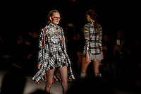 Models display creations by Spain designer Custo Barcelona during the New York Fashion Week 2015 in New York. 15.12.2015. Eduardo Munoz Alvarez/VIEWpress.