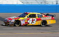 Apr 17, 2009; Avondale, AZ, USA; NASCAR Sprint Cup Series driver Reed Sorenson during practice for the Subway Fresh Fit 500 at Phoenix International Raceway. Mandatory Credit: Mark J. Rebilas-