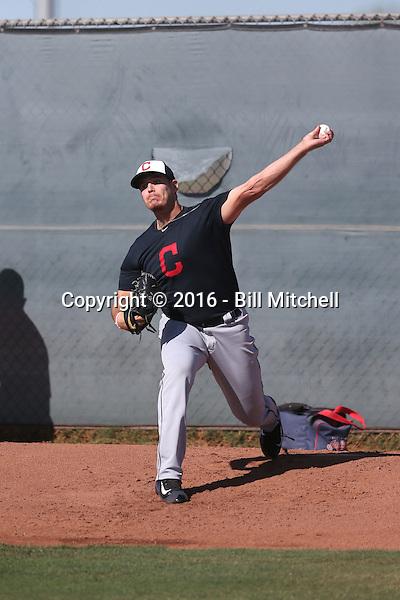 Brady Aiken - Cleveland Indians 2016 extended spring training (Bill Mitchell)