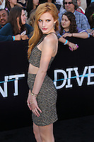 """WESTWOOD, LOS ANGELES, CA, USA - MARCH 18: Bella Thorne at the World Premiere Of Summit Entertainment's """"Divergent"""" held at the Regency Bruin Theatre on March 18, 2014 in Westwood, Los Angeles, California, United States. (Photo by Xavier Collin/Celebrity Monitor)"""