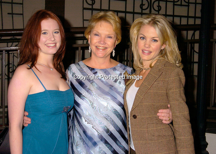 Melissa Archer, Erika Slezak and Bree Williamson ..at ABC Casino Night on October 7, 2004 at The Lighthouse..at Chelsea Piers. ..Photo by Robin Platzer, Twin Images