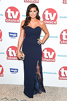 Jessica Wright<br /> arriving for the TV Choice Awards 2017 at The Dorchester Hotel, London. <br /> <br /> <br /> &copy;Ash Knotek  D3303  04/09/2017