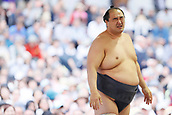 April 17th 2017, Tokyo, Japan;  Aminishiki, Sumo : Annual sumo tournament dedicated to the Yasukuni Shrine in Tokyo Japan.
