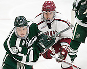 Troy Crema (Dartmouth - 9), Sean Malone (Harvard - 17) - The Harvard University Crimson defeated the Dartmouth College Big Green 5-2 to sweep their weekend series on Sunday, November 1, 2015, at Bright-Landry Hockey Center in Boston, Massachusetts. -
