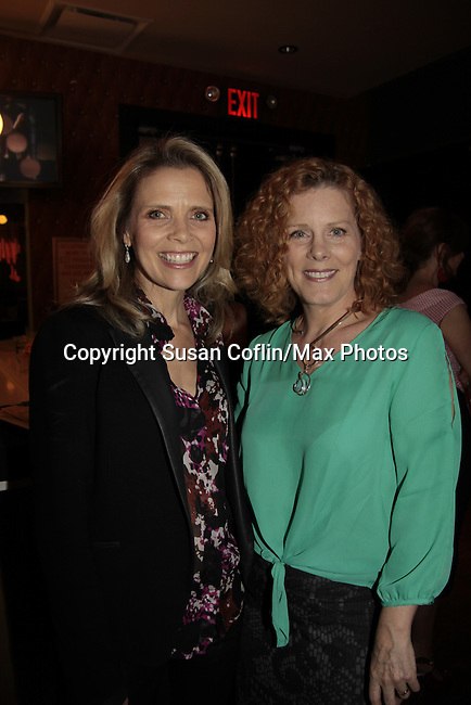 Sonia Satra & Liz Keifer - 11th Annual Daytime Stars & Strikes Event for Autism - 2015 on April 19, 2015 hosted by Guiding Light's Jerry ver Dorn (& OLTL) and Liz Keifer at Bowlmor Lanes Times Square, New York City, New York. (Photos by Sue Coflin/Max Photos)