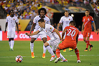 East Rutherford, NJ - Friday June 17, 2016: Santiago Arias after a Copa America Centenario quarterfinal match between Peru (PER) vs Colombia (COL) at MetLife Stadium.