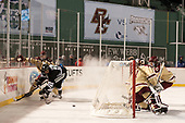 Connor Moore (BC - 7), Scott Conway (PC - 10), Joe Woll (BC - 31), Jesper Mattila (BC - 8) - The Boston College Eagles defeated the Providence College Friars 3-1 (EN) on Sunday, January 8, 2017, at Fenway Park in Boston, Massachusetts.