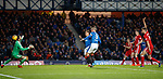 James Tavernier blasts in goal no 3 of the evening