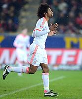 FUSSBALL   1. BUNDESLIGA   SAISON 2012/2013  15. SPIELTAG     SC Freiburg - FC Bayern Muenchen      28.11.2012 Dante (FC Bayern Muenchen)