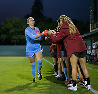 STANFORD, CA - August 24, 2018: Lauren Rood at Laird Q. Cagan Stadium. The Stanford Cardinal defeated the USF Dons 5-1.