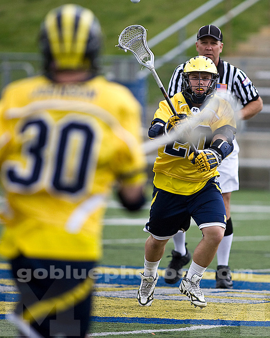 University of Michigan Lacrosse (Men) 23-5 victory over Miami of Ohio at Saline High School on 5/1/2010.