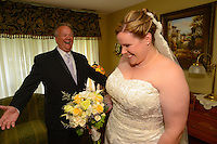 7/28/12 2:11:56 PM - Fairless Hills PA. -- Andrea & Dan - July 28, 2012 in Fairless Hills, Pennsylvania. -- (Photo by William Thomas Cain/Cain Images)