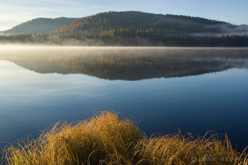 Loon Lake at Sunrise-Thompson Chain of Lakes-Montana