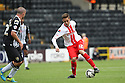 Robin Shroot of Stevenage takes on Mark Fotheringham of Notts County<br />  - Notts County v Stevenage - Sky Bet League One - Meadow Lane, Nottingham - 24th August 2013<br /> © Kevin Coleman 2013
