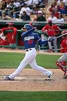 Trayce Thompson - Los Angeles Dodgers 2016 spring training (Bill Mitchell)