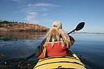 Kayaking Tadoussac area