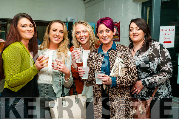 KP&F Lip Synch: Pictured at the Kerry Parents & Friends Lip Synch fundraiser at teh Listowel sports complex on Saturday night last were Olivia Nash, Cara Galvin, Lisa Balmer, Bernadine Murphy & Sarah Leahy.