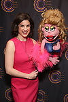 Veronica J. Kuehn and Lucy the Slut attends The 69th Annual Outer Critics Circle Awards Dinner at Sardi's on May 23, 2019 in New York City.