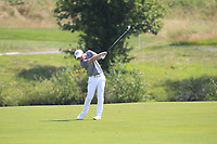 David Horsey (ENG) on the 1st fairway during Round 4 of the HNA Open De France at Le Golf National in Saint-Quentin-En-Yvelines, Paris, France on Sunday 1st July 2018.<br /> Picture:  Thos Caffrey | Golffile