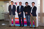 20.06.2012. Working Breakfast at the Hotel Santo Domingo with the press within the framework of the ´VII edition of Madrid de Cine-Spanish Film Screenings´.With the presence of Enrique Urbizu, Pedro Perez President of FAPAE and Gonzalo Salazar-Simpson, President of ACS. In which Agustin Almodovar, on behalf of his brother Pedro, received the Award Fapae - Rentrak 2012 at the Spanish Film Major International Impact ´La piel que Habito (The Skin That Habit). In the image Gonzalo Salazar, Enrique Urbizu and Pedro Perez (Alterphotos/Marta Gonzalez)