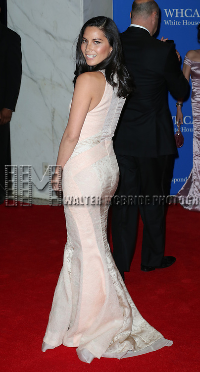 Olivia Munn attends the 100th Annual White House Correspondents' Association Dinner at the Washington Hilton on May 3, 2014 in Washington, D.C.