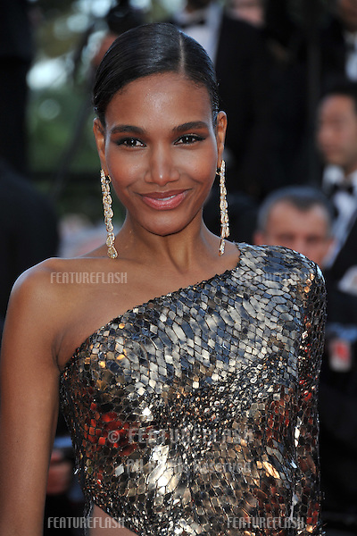 Domenican model Arlenis Sosa at the gala premiere of &quot;Two Days, One Night&quot; at the 67th Festival de Cannes.<br /> May 20, 2014  Cannes, France<br /> Picture: Paul Smith / Featureflash