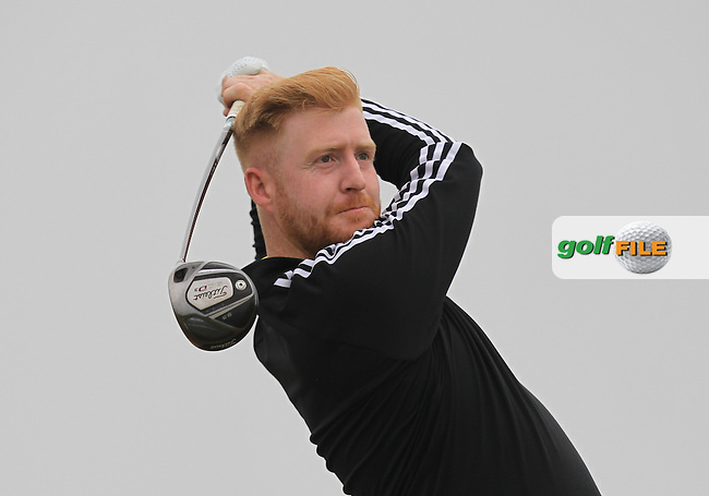Paul Behan (St. Anne's) on the 2nd tee during Round 2 of the East of Ireland Amateur Open Championship sponsored by City North Hotel at Co. Louth Golf club in Baltray on Sunday 5th June 2016.<br /> Photo by: Golffile | Thos Caffrey