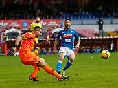 2018 Serie A Football Napoli v Chievo Nov 25th