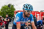 Ryder Hesjedal (CAN,GRS) after finishing at Liège-Bastogne-Liège, Ans, Belgium, 27 April 2014, Photo by Pim Nijland / www.pelotonphotos.com