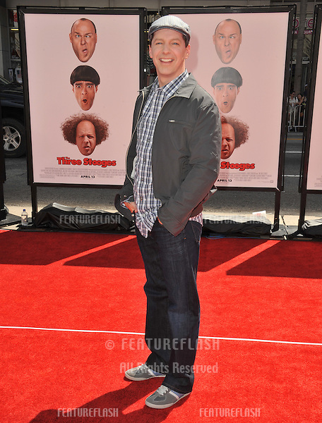 "Sean Hayes at the world premiere of his new movie ""The Three Stooges"" at Grauman's Chinese Theatre, Hollywood..April 7, 2012  Los Angeles, CA.Picture: Paul Smith / Featureflash"
