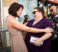 HOLLYWOOD, CA - MARCH 25: Chrissy Metz and Mandy Moore at the Mandy Moore star ceremony on the Hollywood Walk of Fame on March 25, 2019 in Hollywood, California. (Photo by Frank Micelotta/20th Century Fox Television/PictureGroup)