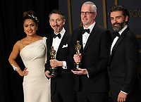 09 February 2020 - Hollywood, California - Mark Taylor, Stuart Wilson, Salma Hayek, Oscar Isaac attend the 92nd Annual Academy Awards presented by the Academy of Motion Picture Arts and Sciences held at Hollywood & Highland Center. Photo Credit: Theresa Shirriff/AdMedia