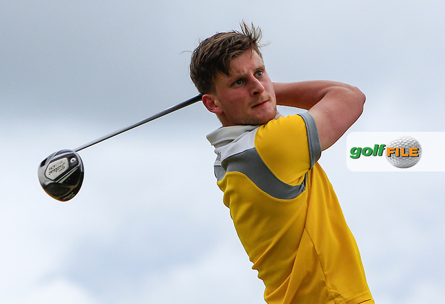 Nils Conway (Grange) on the 12th tee during Round 3 of the 2016 Connacht Strokeplay Championship at Athlone Golf Club on Sunday 12th June 2016.<br /> Picture:  Golffile   Thos Caffrey