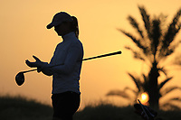 Tonje Daffinrud (NOR) during the first round of the Fatima Bint Mubarak Ladies Open played at Saadiyat Beach Golf Club, Abu Dhabi, UAE. 10/01/2019<br /> Picture: Golffile | Phil Inglis<br /> <br /> All photo usage must carry mandatory copyright credit (© Golffile | Phil Inglis)