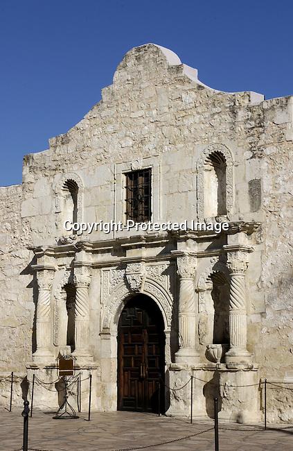 The Alamo in San Antonio Texas Jan 2004