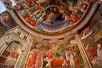 Fresco by Filippo Lippi, Duomo, Spoleto, Umbria, Italy