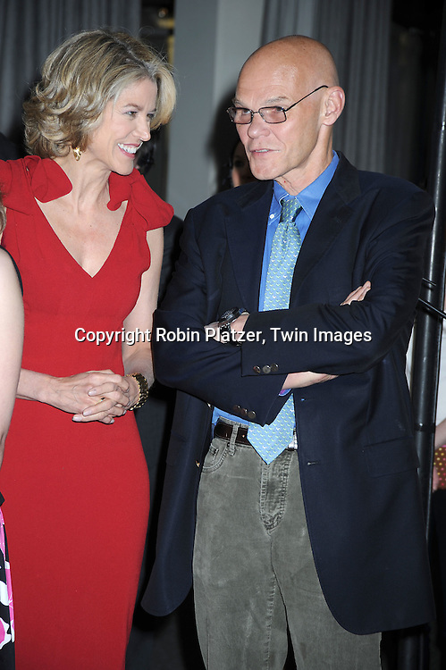 Paula Zahn and James Carville attending The  National Center for Learning Disabilities 33rd Annual Benefit Dinner on April 28, 2010 at Tribeca Rooftop in New York City.