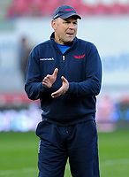 Scarlets' Head Coach Wayne Pivac<br /> <br /> Photographer Ashley Crowden/CameraSport<br /> <br /> Guinness PRO12 Round 19 - Scarlets v Benetton Treviso - Saturday 8th April 2017 - Parc y Scarlets - Llanelli, Wales<br /> <br /> World Copyright &copy; 2017 CameraSport. All rights reserved. 43 Linden Ave. Countesthorpe. Leicester. England. LE8 5PG - Tel: +44 (0) 116 277 4147 - admin@camerasport.com - www.camerasport.com