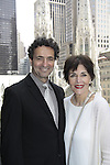 """Another World's Linda Dano and Stephen Schnetzer perform with Fritz Weaver """"The Masks"""" from The Twilight Zone"""" by Rod Serling along with Mike Hodge (ATWT), John Martello, Reese Mishler and Kalli Siringas on May 20, 2015 as Food for Thought Productions presents it at the 3 West Club, New York City, New York. It is their 15th Year Anniversary. Anne Serling daughter of Rod Serling read from her book """"As I Knew Him My Dad - Rod Serling"""" (Photos by Sue Coflin/Max Photos)"""