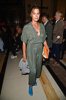 Yasmin Lev Bon<br /> at the Pam Hogg catwalk show as part of London Fashion Week SS17, Freemason's Hall, Covent Garden, London<br /> <br /> <br /> &copy;Ash Knotek  D3155  16/09/2016