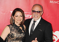 WWW.BLUESTAR-IMAGES.COM Singer Gloria Estefan and producer Emilio Estefan attend 2014 MusiCares Person Of The Year Honoring Carole King at Los Angeles Convention Center on January 24, 2014 in Los Angeles, California.<br /> Photo: BlueStar Images/OIC jbm1005  +44 (0)208 445 8588