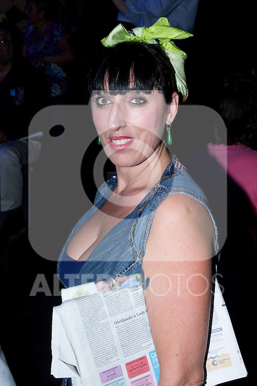 02.09.2012. Celebrities attending the Ion Fiz and Maya Hasen fashion shows during the Mercedes-Benz Fashion Week Madrid Spring/Summer 2013 at Ifema. In the image Rossy de Palma (Alterphotos/Marta Gonzalez)