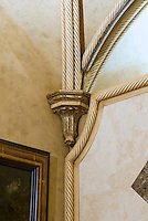 Plaster rope trim architectural detail