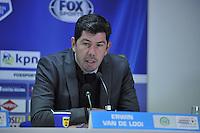VOETBAL: LEEUWARDEN: 08-11-2015, SC Cambuur - FC Groningen, uitslag 2-2, trainer/coach FC Groningen Erwin van de Looi, ©foto Martin de Jong